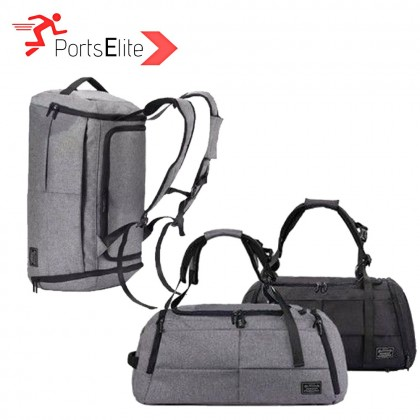 1789 2 in 1 Duffel Travel Backpack and Gym Bag