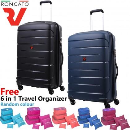 (Bundle) Roncato 100% Polypropylene 41346 Flight DLX 28 Inch Luggage + Organizer