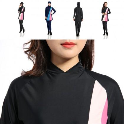 Sokano Fashion Ladies 5587 Muslimah Women Swim Suit Wear Sport Clothing