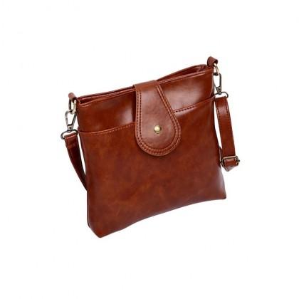 SKN603 Premium PU Leather Crossbody Tote Bag