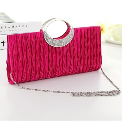 A002 Premium Evening Clutch With Australian Crystal