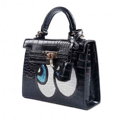 Big Eye Premium PU Leather Bag