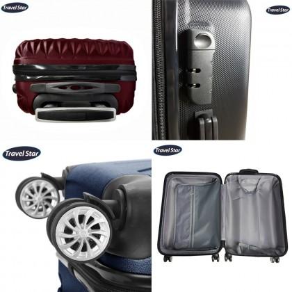 288 Triangle Design Luggage 20+24' (Free 6 in1 Travel organizer)