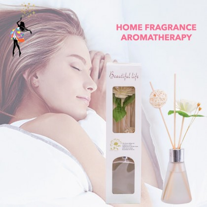 (TBN) Home Fragrance Aromatherapy Oil Diffusers with Natural Sticks and Glass Bottle For Home and Office