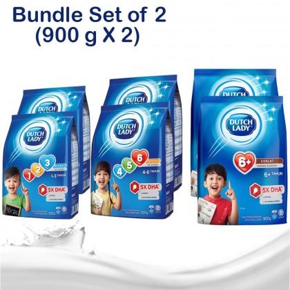 *Free Gift* [900g x 2] Dutch Lady Milk Powder