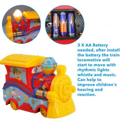 1088E 27 Pcs Orbit Small Train Electronic Automatic Track Kids Pretend Playsets
