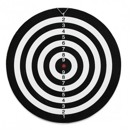 12 inches Double Sided Dartboard with 4 Darts