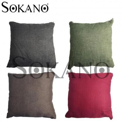 (BUY 1 FREE 1) Detachable Throw Square Bantal Sofa Pillow 35CM x 35CM (COVER + CORE)