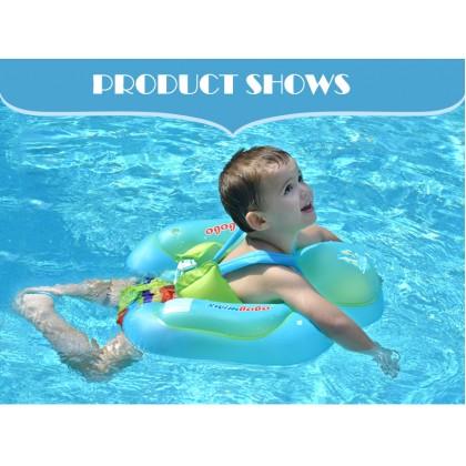 SOKANO Swimbobo BO1013 Baby Infant Seat Security Swimming Pool Neck Float Pelampung Baby Infant Floating for Baby Swimming Toddler