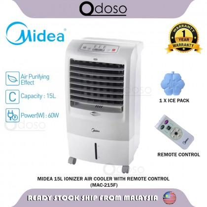 SOKANO Midea 15L ionizer Air Cooler with Remote Control (MAC-215F)