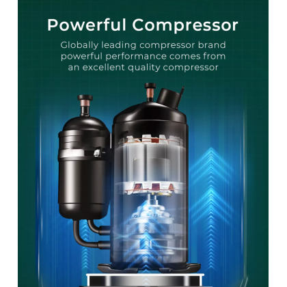 SOKANO Midea 1.0hp Portable Air Conditioner / Aircond / Air Cond (MPH-09CRN1)