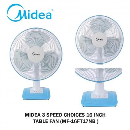 Midea 16 Inch Table Fan Kipas Meja (MF-16FT17NB) - Fulfilled by SOKANO SHOP