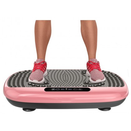 SKN SPORT R102 Vibration Slimming Shaker 7 in 1 Function 99 Adjustable Speed Remote Control with Magnetic Massaging Point Fitness Slimming Yoga 3 Vibration Zone fulfilled by Sokano Shop