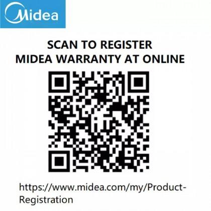 SOKANO Midea 3.5L 1400W Air Fryer (MAF-35A)
