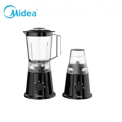 SOKANO Midea 1.25L 350W Blender with Grinder Cup/Dry Mill Black (MBL-35BK)