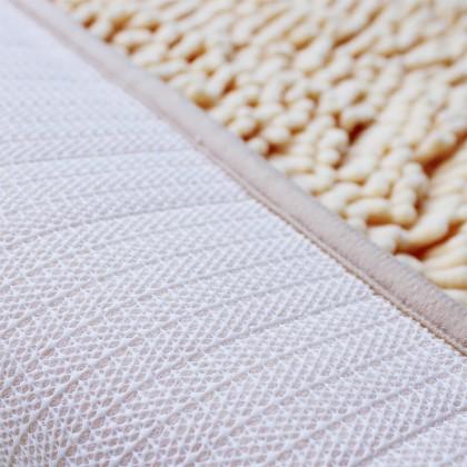 SOKANO FM010 Half Round Floor Mat Door Mat Rug Soft Carpet Anti Slip Dirt Barrier D Shape Semi Circle Half Moon Floor Door Cushion Mat Rug Home Deco