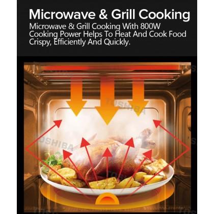 SOKANO Toshiba 20L Simple Series Microwave Oven (ER-SM20(W)MY)