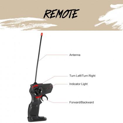 SOKANO TRC001 Remote Control Car 1:16 Scale 2.4GHz Alloy Type Remote Control Car RC Car 4 Wheel Drive Extreme Climbing Car Vehicle Car Toy for Him Rock Crawler Kereta Mainan Battery