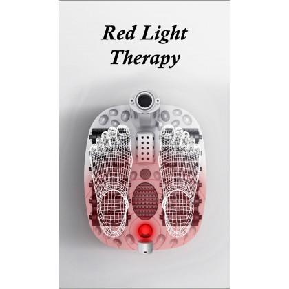 SOKANO F210 Foot Massager Electric Pre-heating Electric Massage Foot Bath 12 Massaging Roller Point with Infrared Blood Circulation Foot Spa Leg Spa Foot Retox