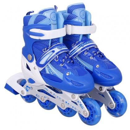 SOKANO T027 Kids Inline Skates Roller Skate Shoes Hand Carry Bag Rollerblade Budak Kasut Roda Outdoor