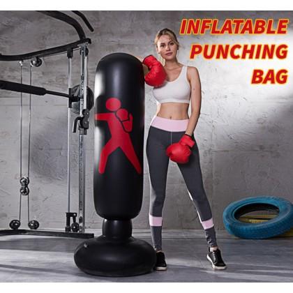SOKANO KJ6030 Inflatable Punching Bag Vertical Inflatable Boxing Column Training Fitness Boxing Punching Bag MMA Kick Martial Training