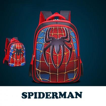 Avengers 3D Muscle Kids School Bag